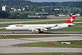 Swiss Airbus A340; HB-JMG@ZRH;10.09.2009 555aw (4329536231).jpg