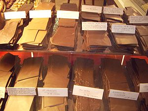 Swiss chocolate - Image: Swiss Chocolate Bars