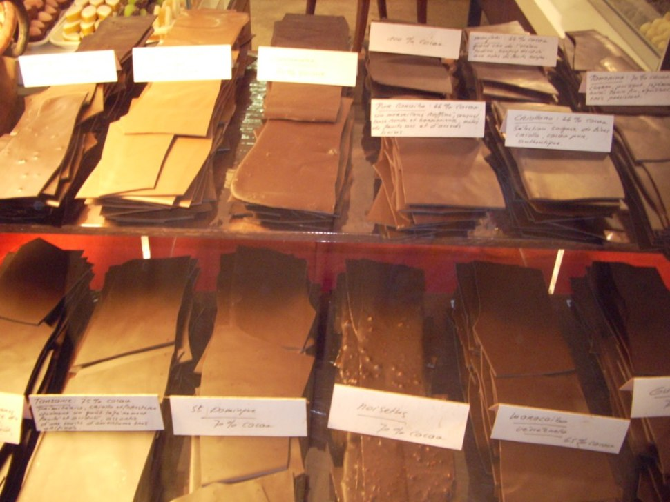 Swiss Chocolate Bars
