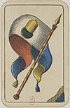 Swiss card deck - 1850 - Banner of Acorns.jpg