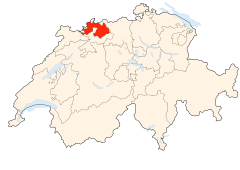 Switzerland Locator Map BL.svg