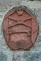 Symbolic stone at Roxburgh Parish Church - geograph.org.uk - 587750.jpg