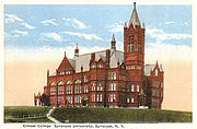 Syracuse 1920 crouse college