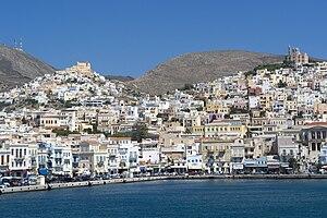 Syros - Ermoupoli and Ano Syros