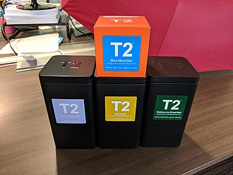 T2 (Australian company) - A small collection of teas from T2