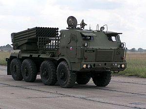 RM-70 multiple rocket launcher - Czech Republic Land Forces RM-70