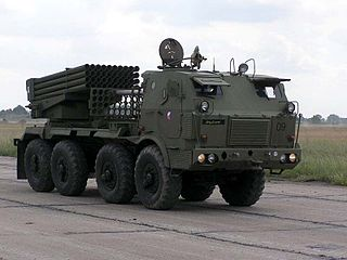 RM-70 multiple rocket launcher Type of Self-propelled multiple rocket launcher