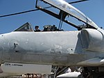 TA-4J port fwd fuselage Canopy, port intake nose gear door. (6096992673).jpg
