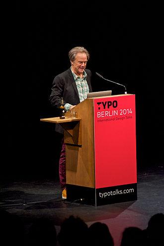 David Carson (graphic designer) - Carson at the 2014 TYPO Berlin conference