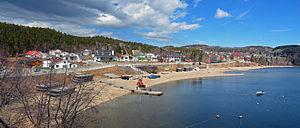 Tadoussac - Image: Tadoussac Panorama 01