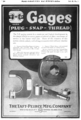 Taft-Peirce gage advert in American Machinist 1920 v53 n1.png