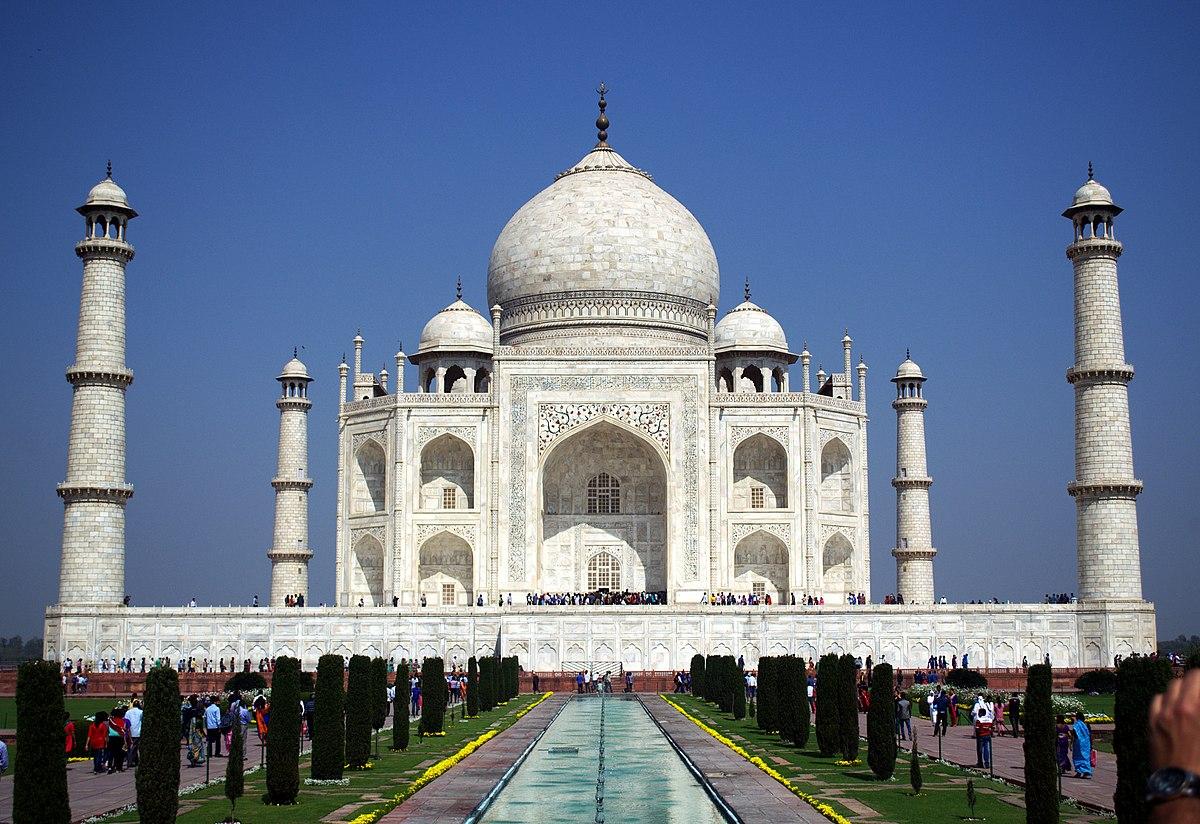 The greatness of Indian history: the Taj Mahal (photo)