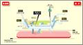 Takaoka station map Nagoya subway's Sakura-dori line 2014.png