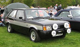 Chrysler Sunbeam - Talbot Sunbeam Lotus in typical black and silver