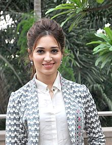 Tamannaah promoting Baahubali in June 2015.jpg