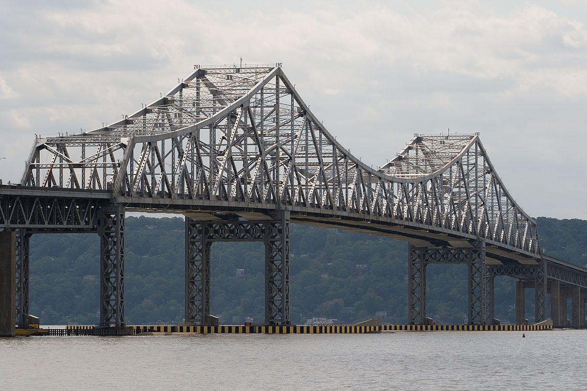 tappan zee bridge essay Tarrytown, ny (ap) — the concrete needed for new york's new, $4 billion tappan zee bridge, under construction over the hudson river, would be enough to mak.