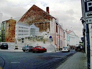 Von Bock House - Von Bock House in Ülikooli Street