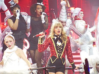 We Are Never Ever Getting Back Together - Swift performing on her Red Tour in 2013