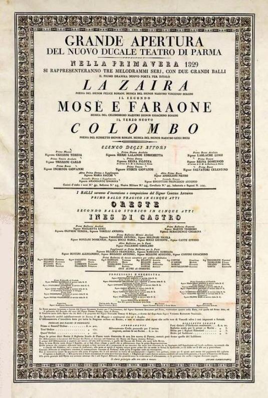 Teatro Regio Parma Apertura
