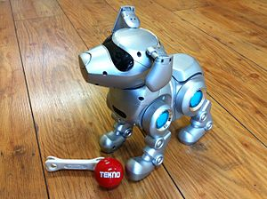 Tekno the Robotic Puppy - Image: Tekno the Robotic Puppy