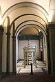 Tempietto del santo sepolcro, veduta della cappella con finta architettura.JPG