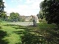 Tennis courts at Shipton Hall - geograph.org.uk - 1446474.jpg