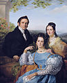 Théodore Joseph Jonet and his two daughters by François-Joseph Navez (1787-1869).jpg