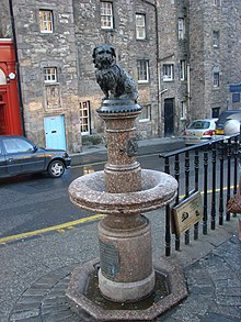 The 'Greyfriars Bobby' Statue - geograph.org.uk - 637793.jpg
