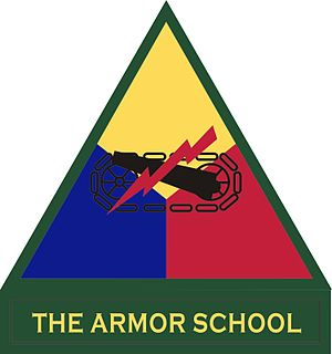 Shoulder sleeve insignia - Image: The Armor School
