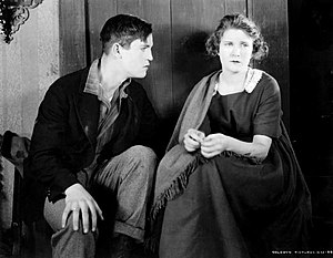 Chester Morris - Morris and Mae Marsh in The Beloved Traitor (1918)
