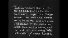 Fichier:The Blue Bird (1918).webm