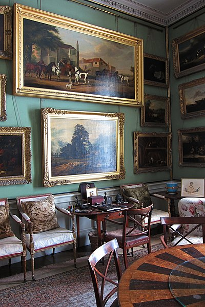 File The Breakfast Room Calke Abbey Jpg Wikimedia Commons