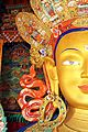 The Buddha's statue at Thiksey Gompa (10001070136).jpg