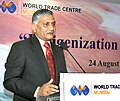 """The Chief of Army Staff, General V.K. Singh addressing at an interactive meeting on """"Indigenization of Army Supplies"""", organized by the All India Association of Industries, in Mumbai on August 24, 2011.jpg"""