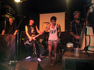The Creepshow - Psychobilly band - Live at Star & Garter, Manchester, United Kingdom - August 7th 2012.png