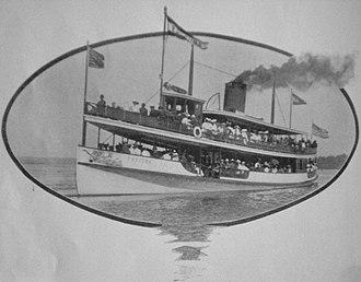 Fortuna (steamboat) - Image: The Fortuna Seattle 1909