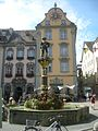 The Fronwag Tower with the astronomical clock in Schaffhausen, Switzerland.jpg