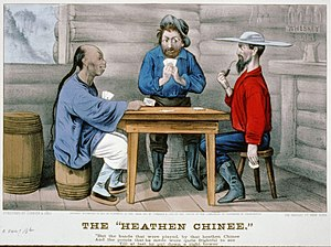 The Heathen Chinee - Image: The Heathen Chinee Currier & Ives c.1871