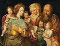 The Holy Kinship, Anna and Joachim with Maria Cleophas and her four sons.jpg