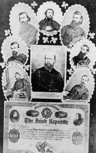 Irish republicanism - Some of the founding members of the Irish Republican Brotherhood