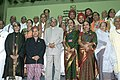 The President, Dr. A.P.J. Abdul Kalam with the Annual Sangeet Natak Akademi Fellowship and Award winners for 2004, in New Delhi on August 26,2005.jpg