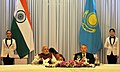 The Prime Minister, Shri Narendra Modi at the official lunch hosted by the President of the Republic of Kazakhstan, Mr. Nursultan Nazarbayev, at Akorda President's Palace, in Astana, Kazakhstan on July 08, 2015 (1).jpg