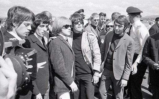 The Rolling Stones på Fornebu, 1965