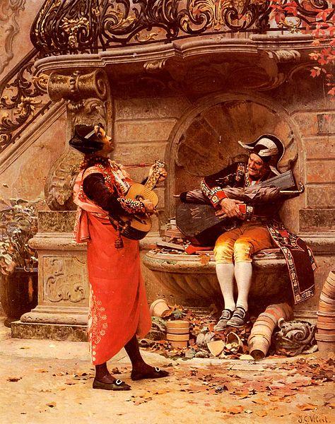 File:The Serenade by Jehan Georges Vibert.jpg