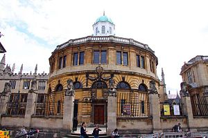 English: The Sheldonian Theatre in Oxford