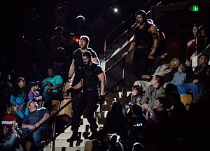 Resultados de WAW Supershow, rumbo a Unstoppable, 08/09/13 desde Chicaco, Illinois. 300px-The_Shield_Entrance