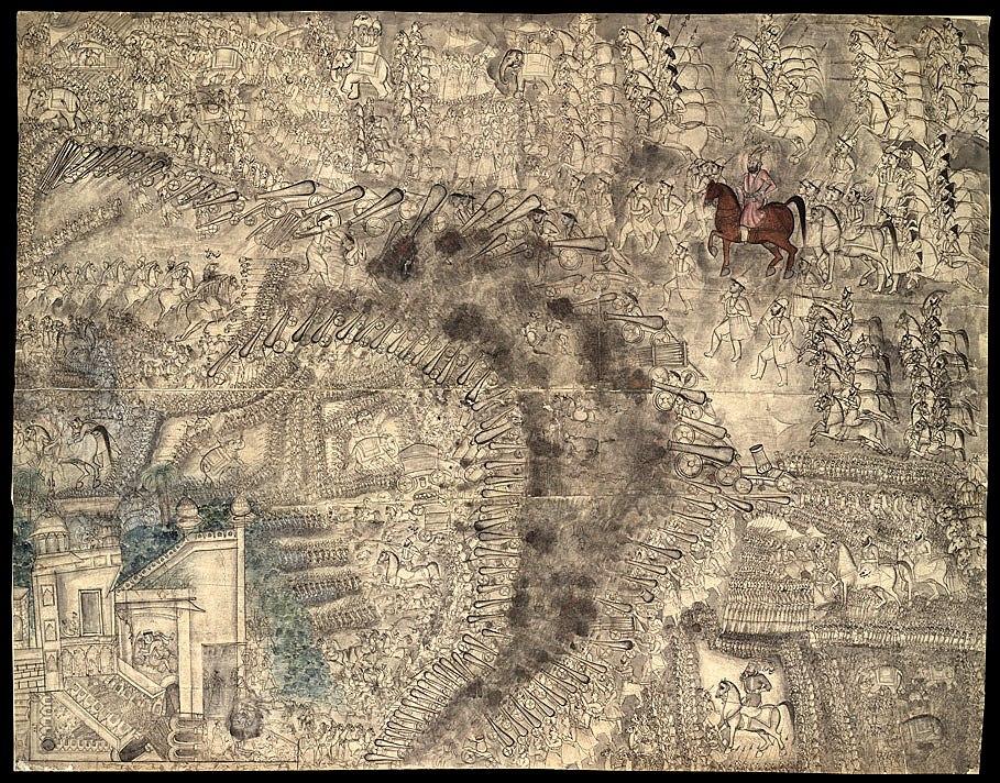 The Third battle of Panipat 13 January 1761