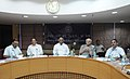 The Union Minister for Labour and Employment, Shri Mallikarjun Kharge chairing the 194th meeting of the Central Board of Trustees (EPF) of EPFO, in New Delhi on June 24, 2011.jpg