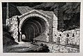 The aqueduct at Orgon (?). Etching by E. Nyon after Rauch. Wellcome V0020173.jpg