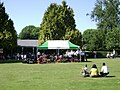 The band takes a breather, Cripplegate Park, Worcester - geograph.org.uk - 1330332.jpg